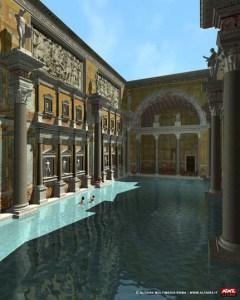 Reconstrucció virtual de les termes de Caracalla