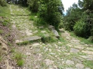 Plataforma de gir de la Via del Capsacosta. Fotografia: M. Genera