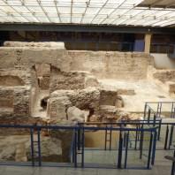 8. Vista de l'espai musealitzat de les termes Romanes de Sant Boi de Llobregat