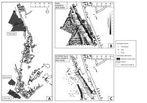 Prospecció magnètica i interpretació al sector del fossat situat a l'extrem nord-oest del Puig de Sant Andreu