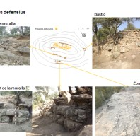 Detalls dels sistemes defensius romanorepublicans del jaciment de Sant Miquel de Sorba