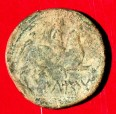 Moneda: unitat de bronze ibèrica d'Iltirta