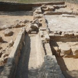 Sistema de mòlta de la pars rústica de la vil.la romana del Mas de Maurisio, al terme municipal de Riba-roja d'Ebre (Ribera d'Ebre).