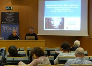 Sessió de la Tribuna d'Arqueologia del 29.11.2017