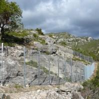 Conjunt de pintures rupestres al Cocó de la Gralla, al Montsià