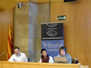 Sessió de la Tribuna d'Arqueologia del 13 de desembre de 2017.