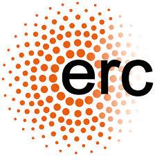 Logo del European Research Council, organisme finançador del projecte.