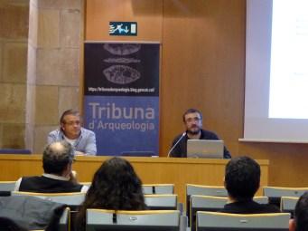 """Sessió del 10 de gener de 2018 de la Tribuna d'Arqueologia 2017-2018 """"Recerca arqueològica al castell de Montjuïc de Barcelona (2010-2017). Primers resultats"""""""