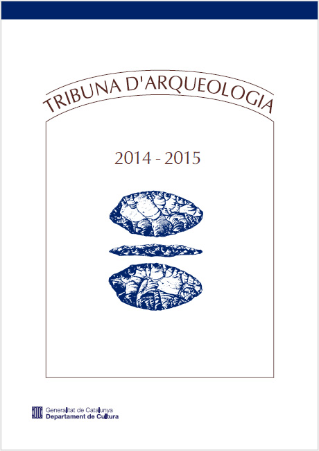 Portada de la publicació de la revista Tribuna d'Arqueologia 2014-2015