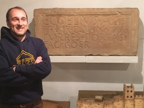 l'arqueòleg Alessandro Ravotto