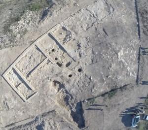 1. Vista aèria del jaciment de Rabassats. Foto: Jaume Noguera