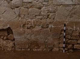2. Restes de L'antic hospital de Capellans ubicat al al carrer Galligants de Girona. Fotografia: Maribel Fuertes