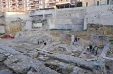 Vista general de la intervenció arqueològica. Foto: Gemma Jove Llopis