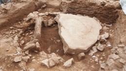 4: Detall de l'estructura megalítica central