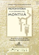 Cartell del 3r Congrés de Protohistòria a la comarca del Montsià