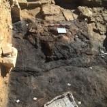 3. Restes de l'incendi a la casa de l'antic barri jueu de Lleida, atacada durant els incidents del Pogrom de 1391. Fotografia: Arxiu Arqueològic de l'Ajuntament de Lleida