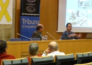 11. Sessió de la Tribuna d'Arqueologia del 27 de febrer de 2019. Fotografia: Gemma Hernández