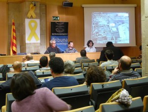 Sessió de Tribuna d'Arqueologia del 13 de febrer de 2019. Fotografia: Maria Adserias.