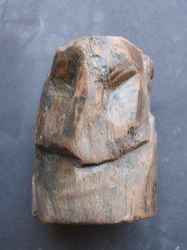 6- Escultura de fusta de l'edifici sacre d'època tardorepublicana