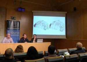 6. Sessió de la Tribuna d'Arqueologia del 27-03.2019. Fotografia: Montserrat Mataró