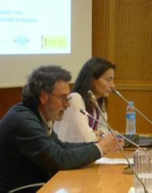 8. Sessió de la Tribuna d'Arqueologia del 8 de maig de 2019. Fotografia: Toni Martín