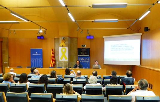 8. Sessió del 22 de maig de juny de 2019 de la Tribuna d'Arqueologia. Fotografia: Magí Miret