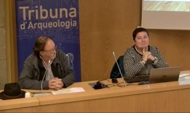 9. Sessió del 22 de maig de juny de 2019 de la Tribuna d'Arqueologia. Fotografia: Magí Miret