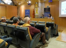 10. Sessió de la Tribuna d'Arqueologia del 8 de maig de 2019. Fotografia: Toni Martín