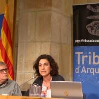 Sessió de la Tribuna d'Arqueologia del 18/12/2019. Fotografia: Marta Monjo