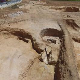 5. Detall del forn de calç. Fotografia: Arqueòlegs.cat
