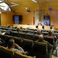 Sessió del 19 de febrer de la Tribuna d'Arqueologia. Fotografia: Toni Martín