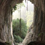 2. Vista de l'entrada de la cova des de l'interior. Imatge: Ramon Álvarez.