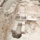 6. Vista d'una de les premses de lliura documentades al molí del Raval. Fotografia: Josep Maria Vila