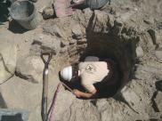 Excavació al pou d'Iesso