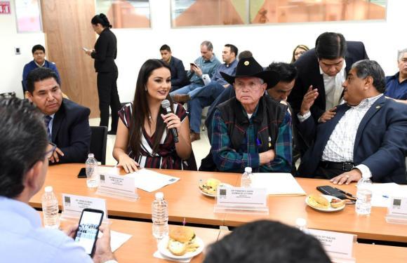 Martha Romo fija su postura  en contra del Plan Nacional de Desarrollo