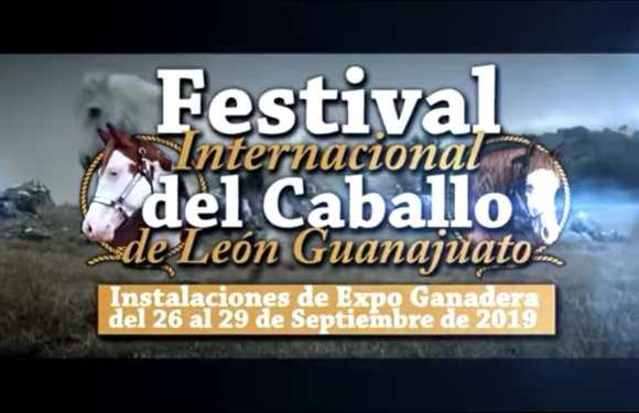 Todo listo para iniciar el Festival Internacional del Caballo de León, del 26 al 29 de septiembre