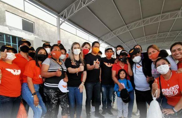 El cambio se defenderá en cada rincón del distrito 02; Ojuelos demuestra apoyo a Marcela Padilla
