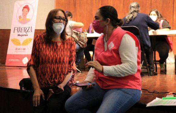Llegan beneficios del programa Fuerza Mujeres a Encarnación de Díaz