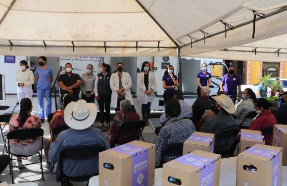 Entregan apoyos de Jalisco Te Reconoce