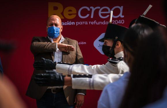 Encabeza Gobernador Enrique Alfaro arranque de Ciclo Escolar 2021–2022 en Educación Media Superior