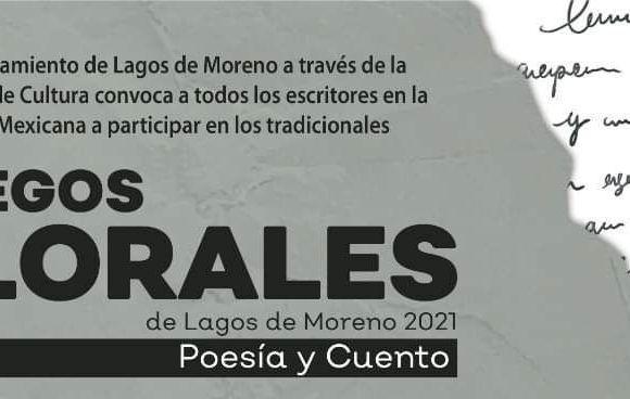 Anuncian ganadores de los tradicionales Juegos Florales de Lagos de Moreno 2021