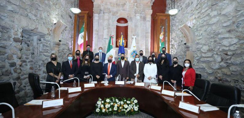 Regidores de la Administración 2021-2024 toman el cargo en comisiones del Pleno del Ayuntamiento