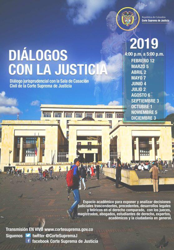 Diálogos con la Justicia CSJ-2019