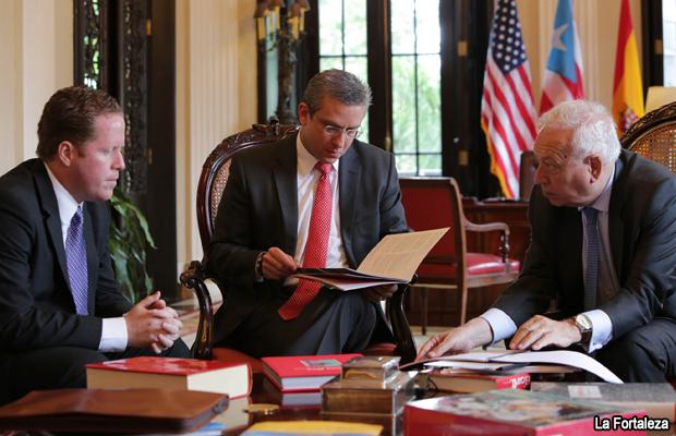 Gobernador recibe a ministro de relaciones exteriores de for Exteriores espana