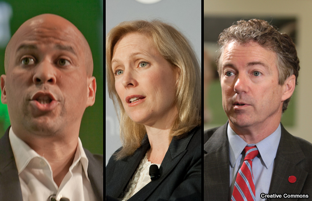 cory-booker-kirsten-gillibrand-y-rand-paul