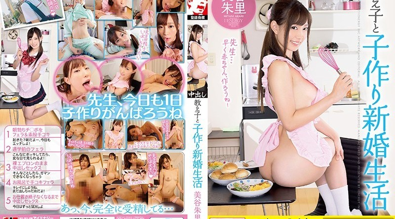 [IENE-845] Mitani Akari - Akari Mitani A Newly Wed Lifestyle Between A Teacher And Student