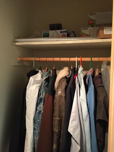 Install A Closet Shelf Rod Tribune Content Agency