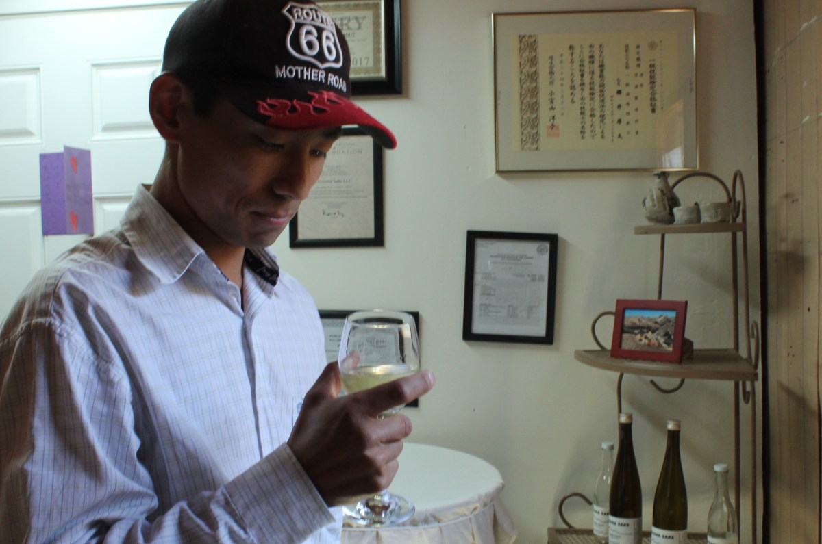 Atsuo Sakurai introduces Japanese sake to Arizona