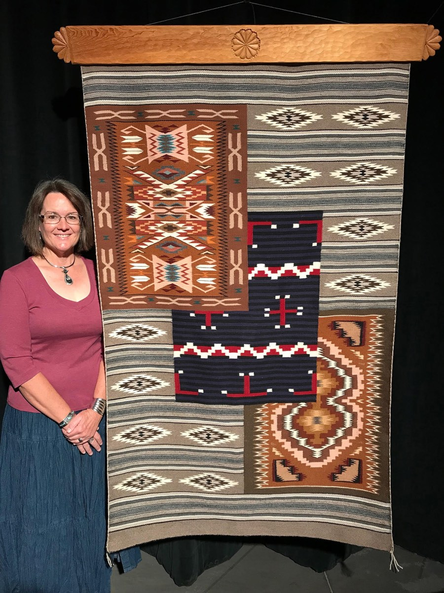 Navajo rug to be up for auction