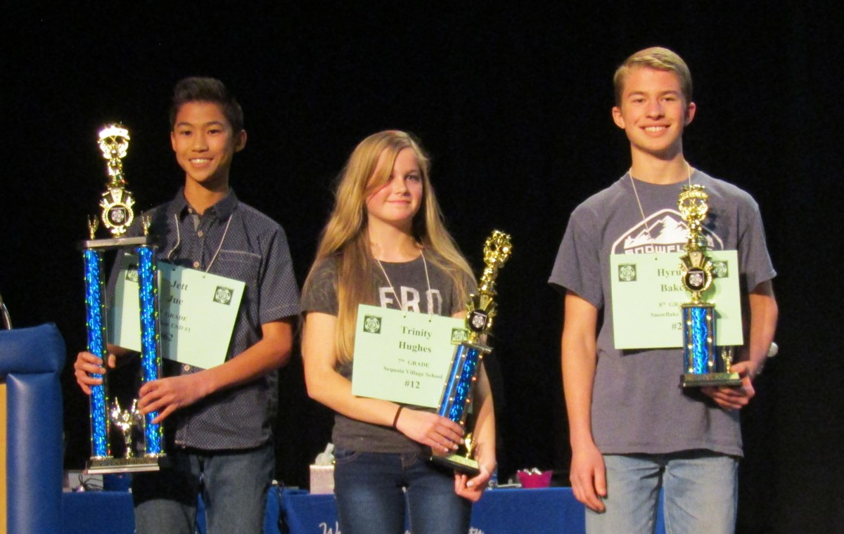 Students show spelling skills at Navajo County Spelling Bee